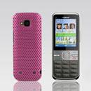 Coque Nokia C5-00 Filet Plastique Etui Rigide - Rose Chaud