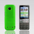 Coque Nokia C5-00 Filet Plastique Etui Rigide - Verte