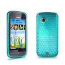 Coque Nokia C5-03 Diamant Silicone Gel Housse - Bleu
