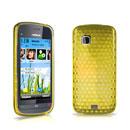 Coque Nokia C5-03 Diamant Silicone Gel Housse - Jaune