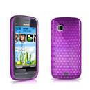Coque Nokia C5-03 Diamant Silicone Gel Housse - Pourpre