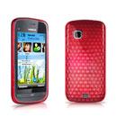 Coque Nokia C5-03 Diamant Silicone Gel Housse - Rouge