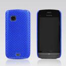 Coque Nokia C5-03 Filet Plastique Etui Rigide - Bleu