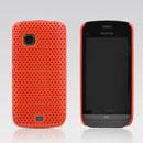 Coque Nokia C5-03 Filet Plastique Etui Rigide - Orange