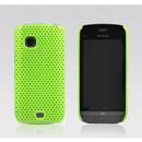 Coque Nokia C5-03 Filet Plastique Etui Rigide - Verte