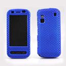 Coque Nokia C6-00 Filet Plastique Etui Rigide - Bleu