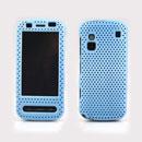 Coque Nokia C6-00 Filet Plastique Etui Rigide - Bleue Ciel