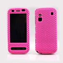 Coque Nokia C6-00 Filet Plastique Etui Rigide - Rose