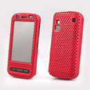 Coque Nokia C6-00 Filet Plastique Etui Rigide - Rouge