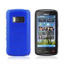 Coque Nokia C6-01 Filet Plastique Etui Rigide - Bleu