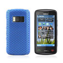 Coque Nokia C6-01 Filet Plastique Etui Rigide - Bleue Ciel