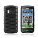 Coque Nokia C6-01 Filet Plastique Etui Rigide - Noire