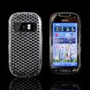 Coque Nokia C7 Diamant TPU Gel Housse - Claire
