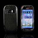 Coque Nokia C7 Diamant TPU Gel Housse - Gris