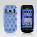 Coque Nokia C7 Filet Plastique Etui Rigide - Bleue Ciel