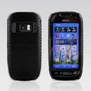 Coque Nokia C7 Filet Plastique Etui Rigide - Noire