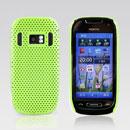 Coque Nokia C7 Filet Plastique Etui Rigide - Verte