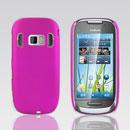 Coque Nokia C7 Plastique Etui Rigide - Rose Chaud