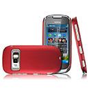 Coque Nokia C7 Plastique Etui Rigide - Rouge