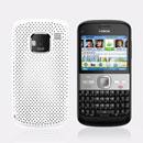 Coque Nokia E5 Filet Plastique Etui Rigide - Blanche
