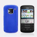 Coque Nokia E5 Filet Plastique Etui Rigide - Bleu
