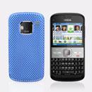 Coque Nokia E5 Filet Plastique Etui Rigide - Bleue Ciel