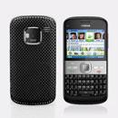 Coque Nokia E5 Filet Plastique Etui Rigide - Noire