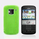 Coque Nokia E5 Filet Plastique Etui Rigide - Verte