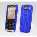 Coque Nokia E52 Filet Plastique Etui Rigide - Bleu
