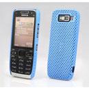 Coque Nokia E52 Filet Plastique Etui Rigide - Bleue Ciel