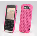 Coque Nokia E52 Filet Plastique Etui Rigide - Rose
