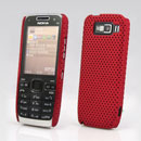 Coque Nokia E52 Filet Plastique Etui Rigide - Rouge