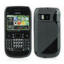 Coque Nokia E6 S-Line Silicone Gel Housse - Noire