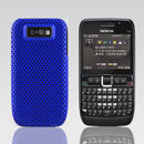 Coque Nokia E63 Filet Plastique Etui Rigide - Bleu