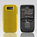 Coque Nokia E63 Filet Plastique Etui Rigide - Jaune