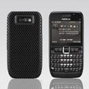 Coque Nokia E63 Filet Plastique Etui Rigide - Noire
