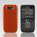 Coque Nokia E63 Filet Plastique Etui Rigide - Orange