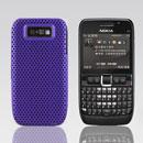 Coque Nokia E63 Filet Plastique Etui Rigide - Pourpre