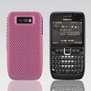 Coque Nokia E63 Filet Plastique Etui Rigide - Rose