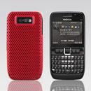 Coque Nokia E63 Filet Plastique Etui Rigide - Rouge