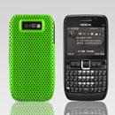 Coque Nokia E63 Filet Plastique Etui Rigide - Verte