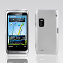 Coque Nokia E7 Plastique Etui Rigide - Blanche
