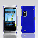 Coque Nokia E7 Plastique Etui Rigide - Bleu
