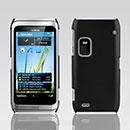 Coque Nokia E7 Plastique Etui Rigide - Noire
