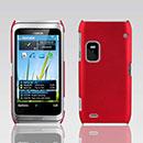 Coque Nokia E7 Plastique Etui Rigide - Rouge