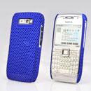 Coque Nokia E71 Filet Plastique Etui Rigide - Bleu