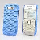 Coque Nokia E71 Filet Plastique Etui Rigide - Bleue Ciel