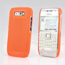 Coque Nokia E71 Filet Plastique Etui Rigide - Orange