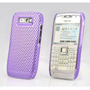 Coque Nokia E71 Filet Plastique Etui Rigide - Pourpre