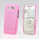Coque Nokia E71 Filet Plastique Etui Rigide - Rose